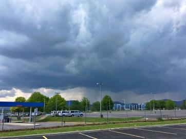 Storm approaching ROA
