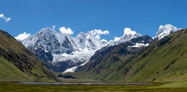 mountain landscape high