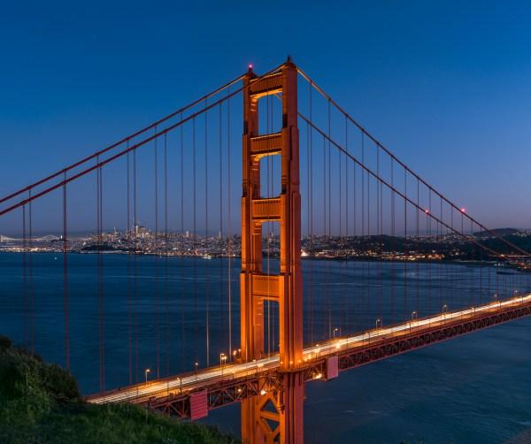 Golden Gate Bridge High Resolution Large-format Fine Art