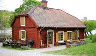 Caféet Svindersviks brygghus i Nacka