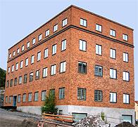 Tidigare verkstadskontoret i Finnboda