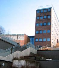 Goman-huset mellan Danvikstrand och Danvikens dårhus