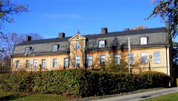 Hovings malmgård vid Danvikskanalen på Södermalm