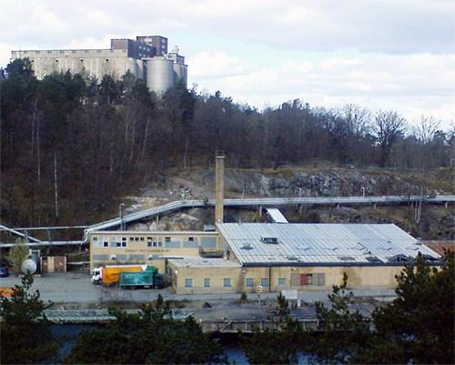 v. holst pastillfabrik på kvarnholmen, södra kajen