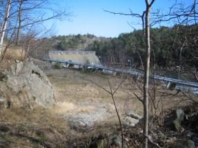 Sillkaj och pipeline på Kvarnholmen
