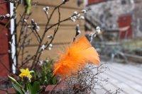 Påskdekoration på Svindersviks Brygghus i Nacka