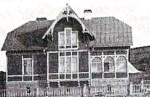 Ingenjörsvillan vid Saltsjöqvarn, 1908