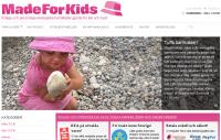 E-butiken Made for Kids säljer ekologiska barnkläder