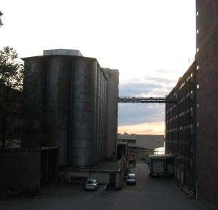 Havrekvarn och lagerhotell på Kvarnholmen