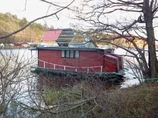 Husbåt i Svindersviken