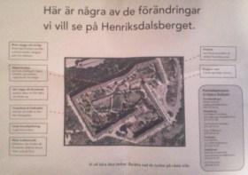 Socialdemokratiska förslag för Henriksdalsberget