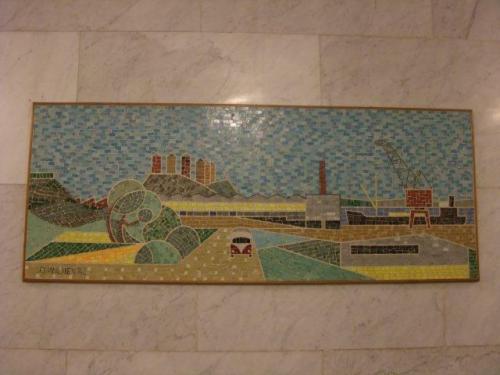 Mosaiktavla Bondegatan 69