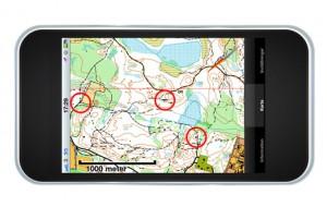 Karta över Västra Sicklaön i mobilen