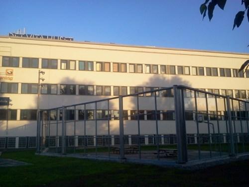 Bullerskydd runt rastgården för JENSEN förskola i Danvikstull