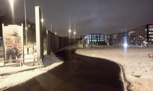 Kanalvägen mellan Värmdövägen och Henriksdalshamnen