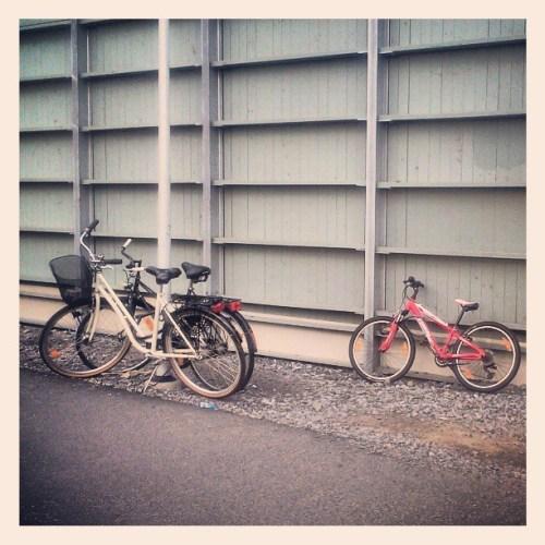 Cykelställ på Kanalvägen i Kvarnholmen