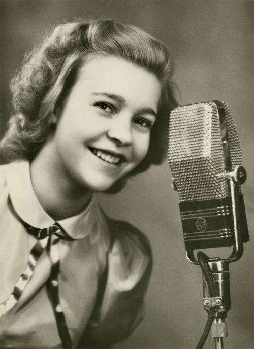Sångerskan Alice Babs 1939