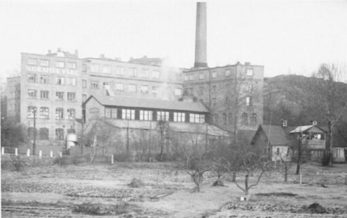 Henriksborg, Nacka: Bonniers färgfabrik Grafisk Färg