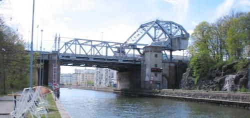 Danviksbron mellan Södermalm och Danviksklippan