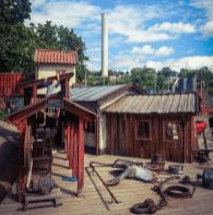Anders Franzéns-parken mellan Henriksdalsparken och Danviksklippan