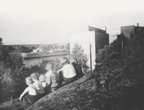 Kvarnholmen - vår barndoms ö