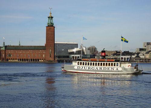 Ångfärjan Djurgården 4 (bild: Holger Ellgaard)