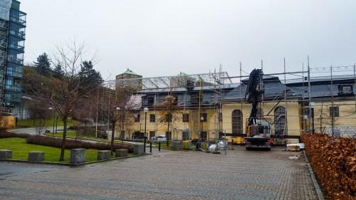 Danvikens hospital mellan Saltsjöqvarn och Danviksbron