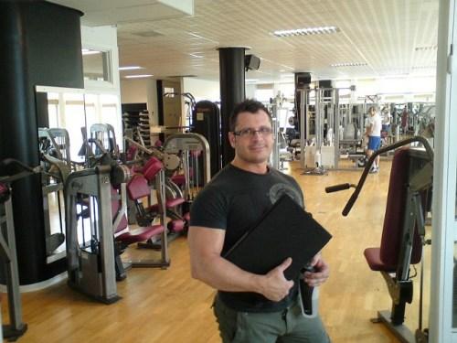 Carlo Taberly på Danviks Hälsoforum