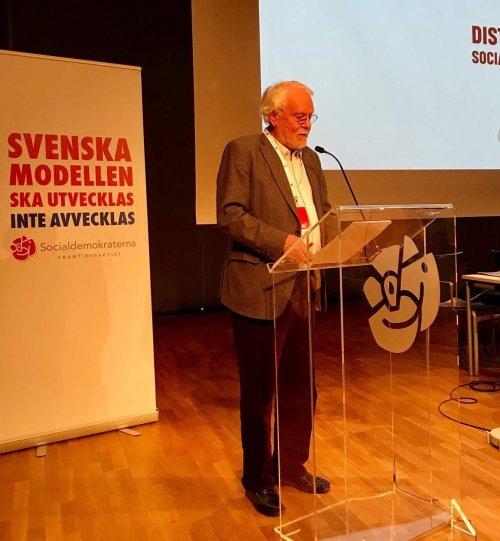 Carl-Magnus Grenninger, ordförande i Västra Sicklaöns socialdemokrater och granne i Henriksborg