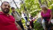 fotosafari i skogen trolldalen i nacka