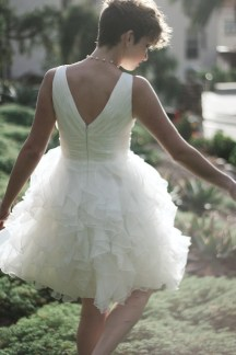 LITTLE WHITE DRESS 329