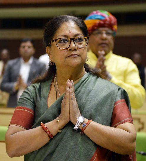 vasundhara raje budget vidhan sabha jaipur 2018 19 CMP_0684