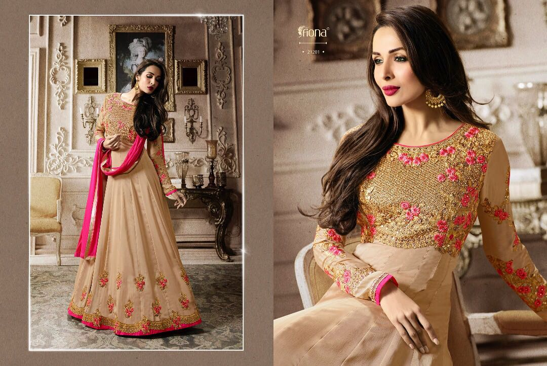 Fiona Zara Vol 3 Malaika Arora Wholesale Anarkali Suit