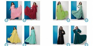 Wholesale Arihant Designer Vamika Glamore 7001-7008 Kurti Collection