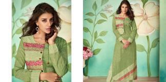 Wholesale Collection Arihant Designer Vamika Sabha 8001-8008 Kurti With Bottom