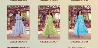 Wholesale Collection Mayree India Celestia 001-008 Cotton Designer Kurti