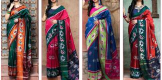 Shubh Vastra Patola Vol1 5101-5104 Party Wear Weaving Silk Saree