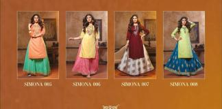 Kiana Simona 001-008 Rayon Designer Wholesale Collection