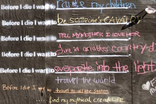 before i die answers