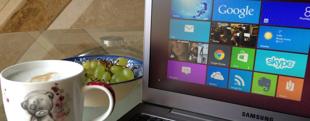 Две седмици с Windows 8
