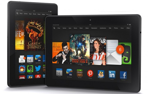 Amazon представя Kindle Fire HD с 14 туита