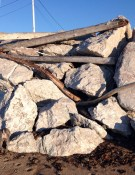 Wood and rock