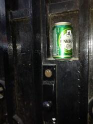 Puerta en algún lugar de Las Ramblas