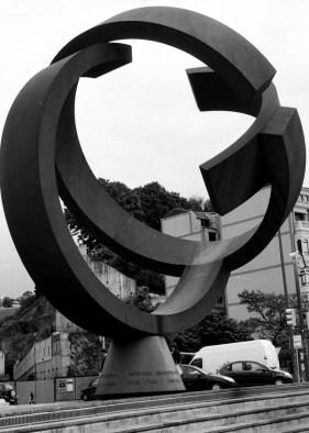 Sculpture in Bilbao