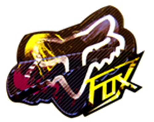 fox racing multi color
