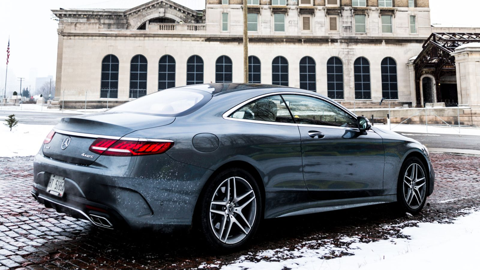 mercedes S class coupe 2018 μέσα και έξω