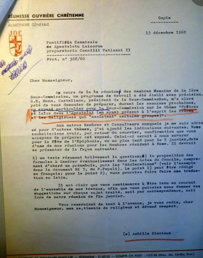 Glorieux Cardijn 13 12 1960