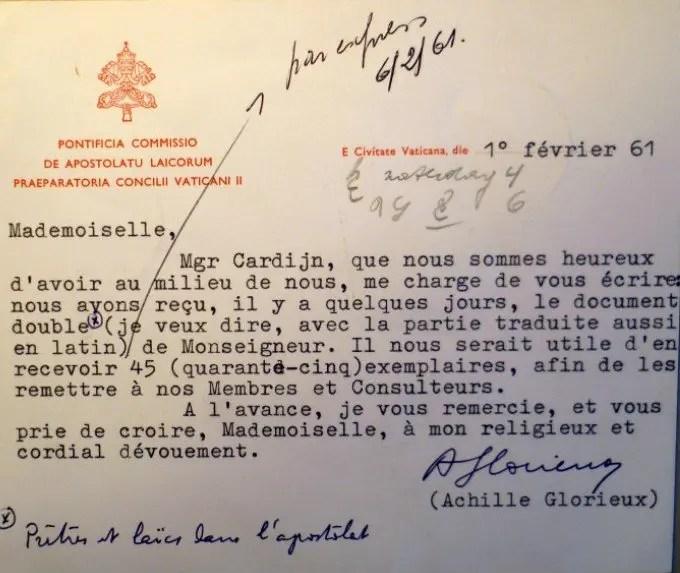 Glorieux - Fiévez 01 02 1961