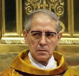 General Jesuita Adolfo Nicolás 2.009 enojado