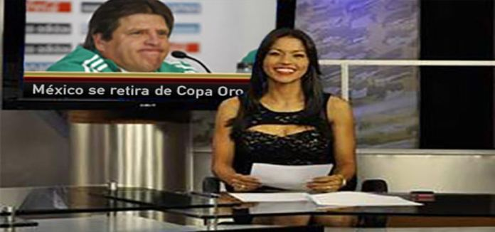 Screenshot from Mexican television sports